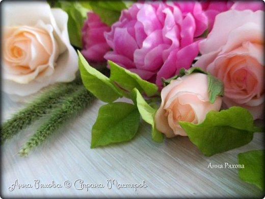Вот ещё цветочки, они уже полностью из самоварного ХФ. Колоски стабилизированные, живые. Понравилось мне увековечивать растения и травинки))) фото 9