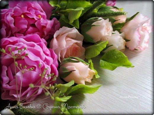 Вот ещё цветочки, они уже полностью из самоварного ХФ. Колоски стабилизированные, живые. Понравилось мне увековечивать растения и травинки))) фото 6