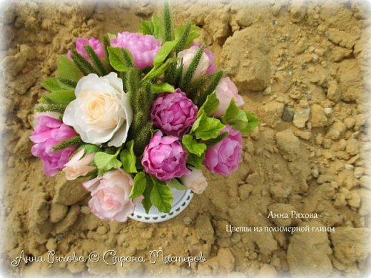 Вот ещё цветочки, они уже полностью из самоварного ХФ. Колоски стабилизированные, живые. Понравилось мне увековечивать растения и травинки))) фото 3