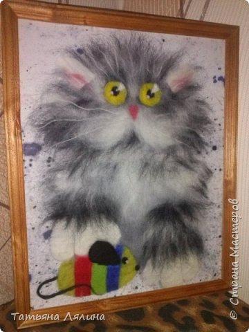 Снова пушистик, кошачья тема неисчерпаема! фото 2