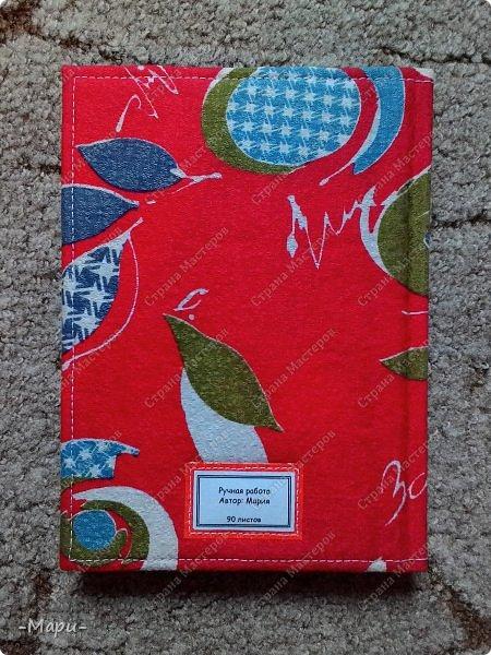 Привет, Страна Мастеров! Этот блокнот кулинарная книга. Формат А5, 90 листов распечатанные на принтере, обложка тканная: хлопок, прошитая на швейной машинке. Блокнот сделала для тёти в подарок. фото 13