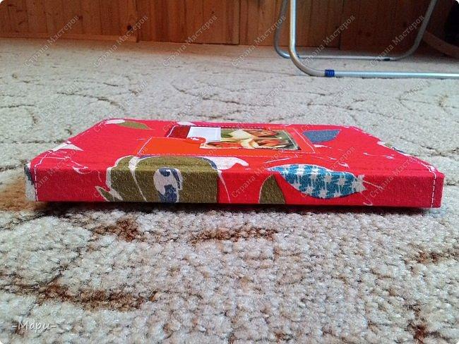 Привет, Страна Мастеров! Этот блокнот кулинарная книга. Формат А5, 90 листов распечатанные на принтере, обложка тканная: хлопок, прошитая на швейной машинке. Блокнот сделала для тёти в подарок. фото 4