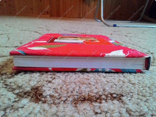 Привет, Страна Мастеров! Этот блокнот кулинарная книга. Формат А5, 90 листов распечатанные на принтере, обложка тканная: хлопок, прошитая на швейной машинке. Блокнот сделала для тёти в подарок. фото 5