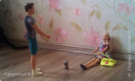 """Привет Страна Мастеров. Сегодня я вам расскажу одну историю, которая называется""""Во всём виновата мышка.""""Смотрим. """"Настя проснулась.   фото 17"""