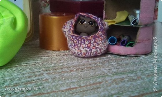 """Привет Страна Мастеров. Сегодня я вам расскажу одну историю, которая называется""""Во всём виновата мышка.""""Смотрим. """"Настя проснулась.   фото 18"""