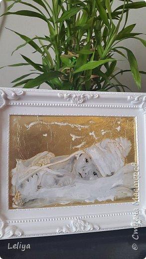 Краски витражные на водяной основе.... задний фон сусцальное золото :) фото 4