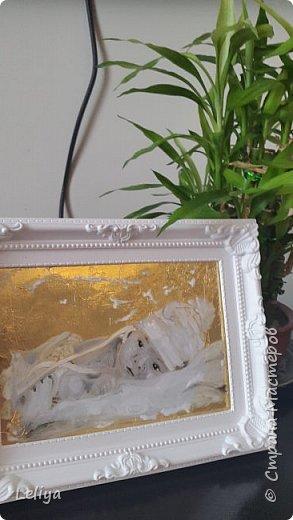 Краски витражные на водяной основе.... задний фон сусцальное золото :) фото 1