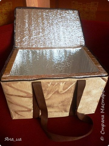 Эту сумочку я сделала друзьям из Грузии в подарок. Они любят много ездить, в Грузии жарко, и я подумала, что такой подарок будет им к стати. И не ошиблась.))) фото 2