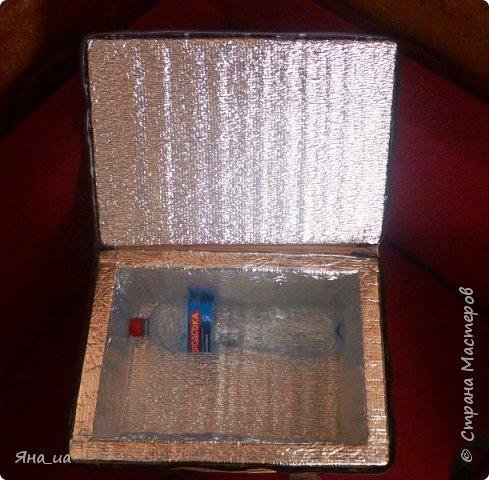 Эту сумочку я сделала друзьям из Грузии в подарок. Они любят много ездить, в Грузии жарко, и я подумала, что такой подарок будет им к стати. И не ошиблась.))) фото 3