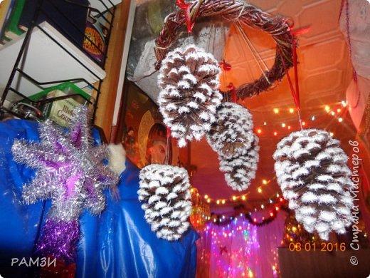 Новогодние и Рождественские венки своими руками, из лесных и других материалов, дар от леса. фото 5