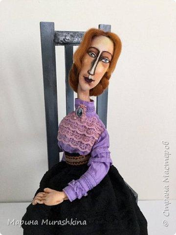 В продолжение темы по мотивам третья кукла. Рыжая.  фото 1