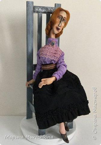 В продолжение темы по мотивам третья кукла. Рыжая.  фото 2