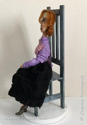 В продолжение темы по мотивам третья кукла. Рыжая.  фото 3