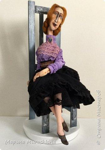 В продолжение темы по мотивам третья кукла. Рыжая.  фото 5