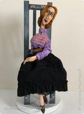 В продолжение темы по мотивам третья кукла. Рыжая.  фото 6