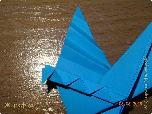 Вот такого голубя я предлагаю сделать вам вместе с детьми. фото 34