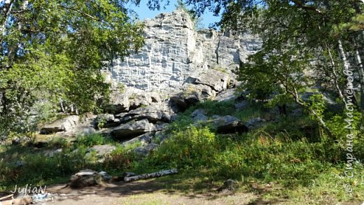 Сегодня ездили на скалы. Они находятся по дороге в Белорецк. фото 2