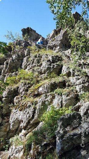 Сегодня ездили на скалы. Они находятся по дороге в Белорецк. фото 5