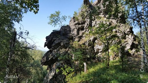 Сегодня ездили на скалы. Они находятся по дороге в Белорецк. фото 8