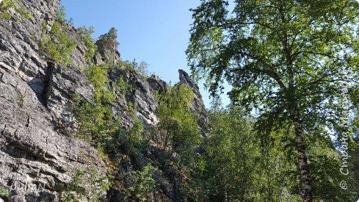 Сегодня ездили на скалы. Они находятся по дороге в Белорецк. фото 9