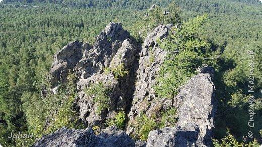 Сегодня ездили на скалы. Они находятся по дороге в Белорецк. фото 15