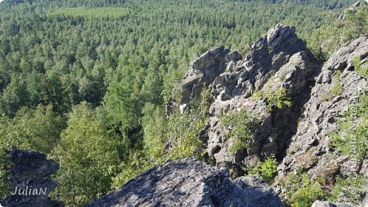 Сегодня ездили на скалы. Они находятся по дороге в Белорецк. фото 16