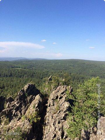 Сегодня ездили на скалы. Они находятся по дороге в Белорецк. фото 19