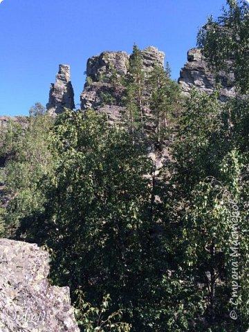 Сегодня ездили на скалы. Они находятся по дороге в Белорецк. фото 7