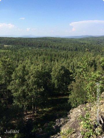 Сегодня ездили на скалы. Они находятся по дороге в Белорецк. фото 18