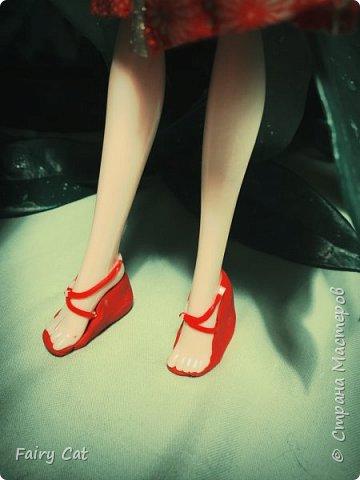 """ハイ! 想像していただくポジションでの競争""""のなかの日本"""" (Здравствуйте! Представляю свою работу на конкурс """"Япония"""") . Куколку зовут Рейчел(сестра Рейвен(сама придумала)) фото 8"""