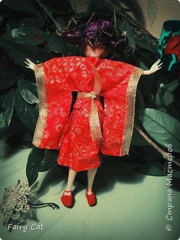 """ハイ! 想像していただくポジションでの競争""""のなかの日本"""" (Здравствуйте! Представляю свою работу на конкурс """"Япония"""") . Куколку зовут Рейчел(сестра Рейвен(сама придумала)) фото 10"""
