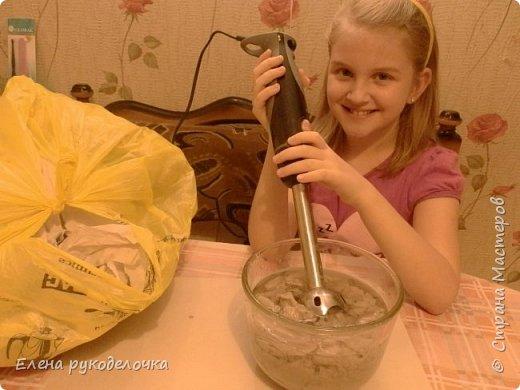 """В марте дочка участвовала в творческом проекте, а я ей помогала, чем могла. Тема у нас была """" Как творчество может защитить планету от мусора"""". фото 3"""