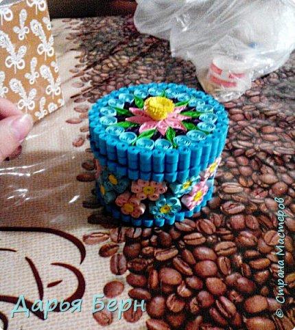 Шкатулка - повторюшка сделана в подарок на день рождения. Идею шкатулки взяла здесь http://stranamasterov.ru/node/355537?c=favorite Ну и немножко изменила её. фото 7