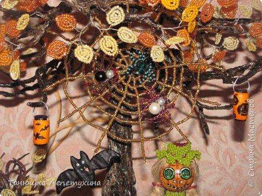 Идеи по оформлению лиц тыкв и пугала, и плетение пауков нашла на просторах интернета. Не судите строго)) фото 3