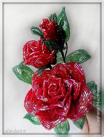 Роза сделана из рубки. фото 4