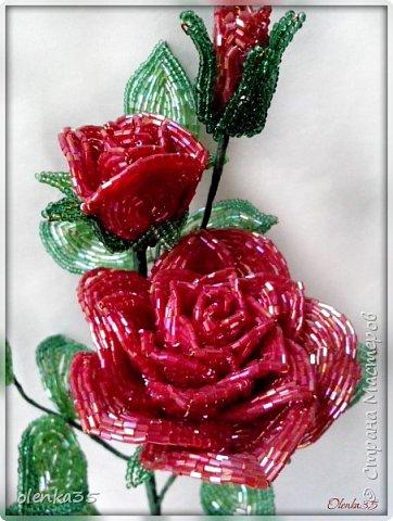 Роза сделана из рубки. фото 5