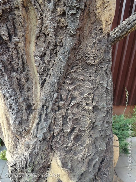 Здравствуй страна !!!!!! Вот наконец то  я заглянула в гости  Задумала грандиозный проект , вот начало положено. Теперь у меня есть вековое дерево.А сколько ещё всего будет.... фото 19