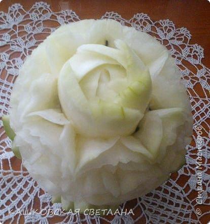 Вот такой попался арбуз. Белый, как платье невесты. фото 2