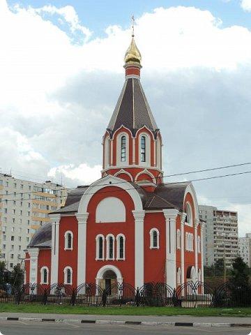 Москва. Церковь Татианы в Люблино (новая) фото 4