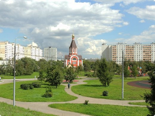 Москва. Церковь Татианы в Люблино (новая) фото 8