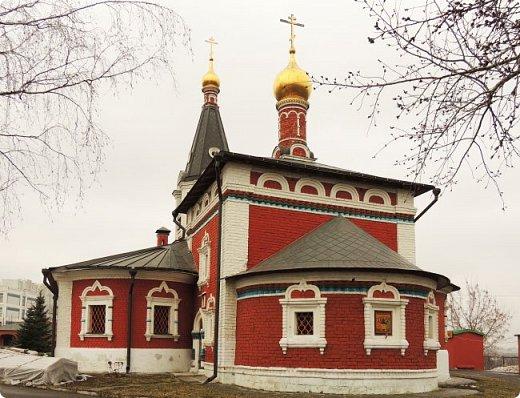 Москва. Церковь Николая Чудотворца в Сабурове фото 3