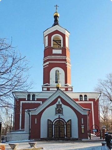 Москва. Церковь Троицы Живоначальной в Борисове. фото 1