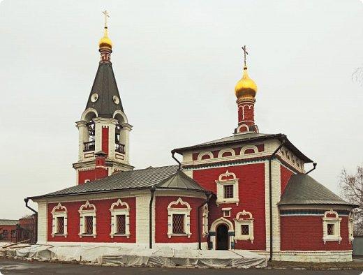 Москва. Церковь Николая Чудотворца в Сабурове фото 1