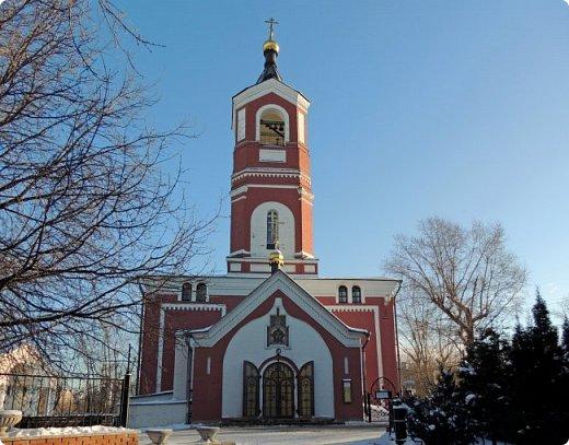 Москва. Церковь Троицы Живоначальной в Борисове. фото 2