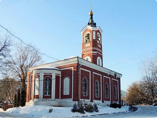 Москва. Церковь Троицы Живоначальной в Борисове. фото 3