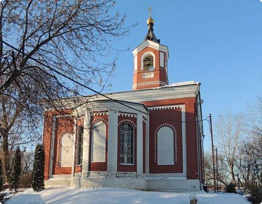 Москва. Церковь Троицы Живоначальной в Борисове. фото 4
