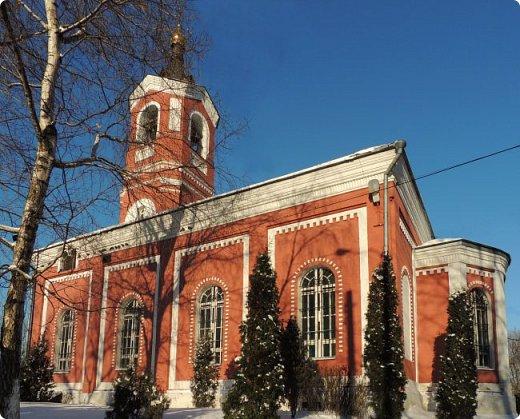 Москва. Церковь Троицы Живоначальной в Борисове. фото 8