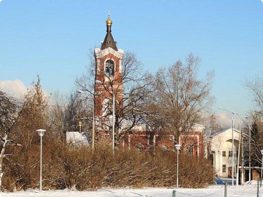 Москва. Церковь Троицы Живоначальной в Борисове. фото 7