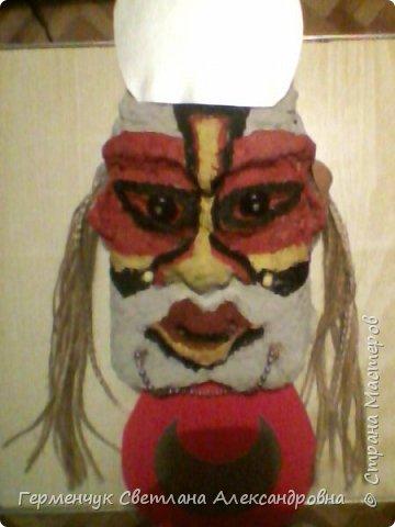 Это -маска африканских   шаманов.Африканские шаманы имеют влияние на людей  фото 1