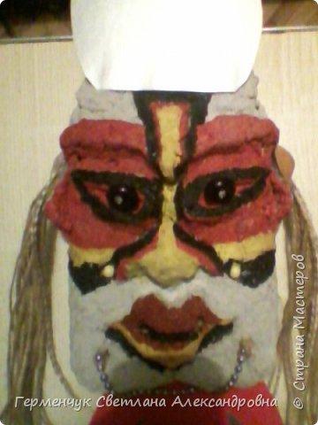 Это -маска африканских   шаманов.Африканские шаманы имеют влияние на людей  фото 2